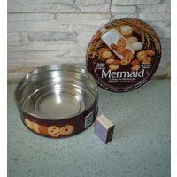 Банка металлическая для печенья
