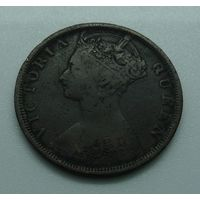 1 цент 1901г. Гонконг