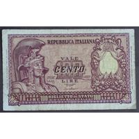 Италия 100 лир 1951 год.