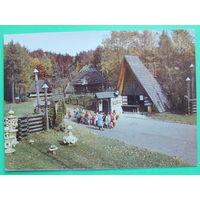Львов. Музей народной архитектуры и быта. Чистая. 1981 года.