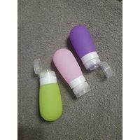 Силиконовые бутылочки для косметики