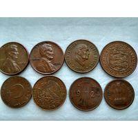 Сборный лот из 8 монет