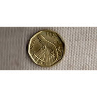 Фиджи 1 доллар 2012/фауна/ящерица(Li)