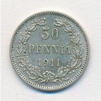 50 пенни 1911 год_состояние XF