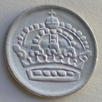 Швеция, 10 эре 1959 года (TS), KM# 823, Gustaf VI, Серебро.