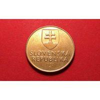 1 крона 1993. Словакия.