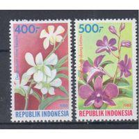 [442] Индонезия 1988.Флора.Орхидеи.