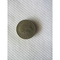 5 песет 1975 (76) Испания КМ# 807 медно-никелевый сплав