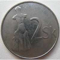 Словакия 2 кроны 1993 г. (a)