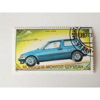 Монголия 1989. Автомобили.