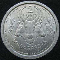 Фр. Мадагаскар 2 франка 1948 (141)