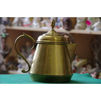 Чайник латунный  1 литр ( 20 см )