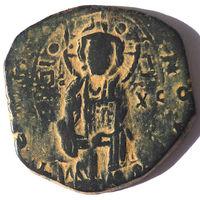 ВИЗАНТИЯ. МИХАИЛ IV ПАФЛАГОН (1034-1041 г.). АНОНИМНЫЙ ФОЛЛИС.