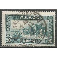 Французское Марокко. Город Рабат. 1933г. Mi#104.