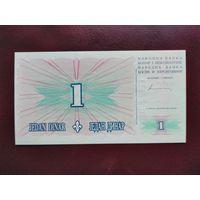 Босния и Герцеговина 1 динар 1994 UNC