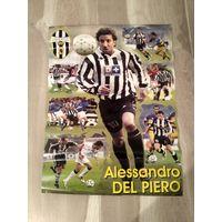 Плакат Алессандро Дель Пьеро