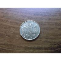 Кипр 2 цента 1983