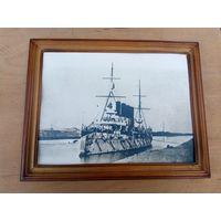Фото старинное в рамке Броненосец