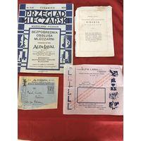 Журнал и реклама фирмы Alfa-Lawal 1930-е годы