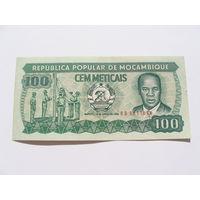 Мозамбик. 100 метикал 1986 год UNC