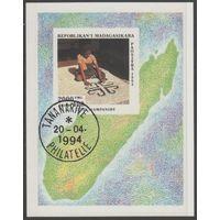 Мадагаскар/1994/Ремёсла/Народное творчество/Искусство/СТО/Блок /