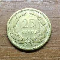 Турция 25 куруш 1956 _РАСПРОДАЖА КОЛЛЕКЦИИ