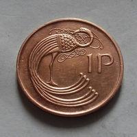 1 пенни, Ирландия 1980 г.