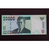 Индонезии 20000 рупий 2013 UNC