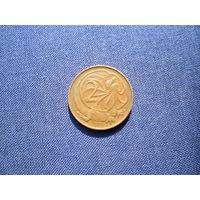 Австралия 2цента 1966г