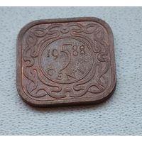Суринам 5 центов, 1988 6-11-25