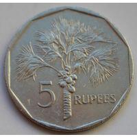 Сейшелы, 5 рупий 2007 г.