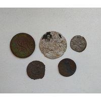 Шмурдзякі два грошы 1766, грош і саліды