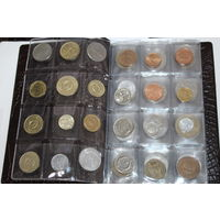 Альбом с монетами экзотика