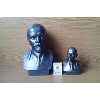 Два бюста В.И.Ленина. Ск.Завалов. Лениниана. (возможен обмен)