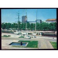 1980 год Клайпеда Набережная реки Дане