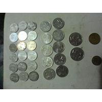 32 шт литы центы