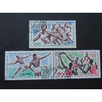 Центральная Африка 1964 г. Спорт.