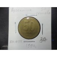 50 сентаво Аргентины 1994 года. 1