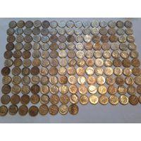 Дайм. Даим. дим. 10 центов США 1946-1964гг. 158 шт. Серебро.