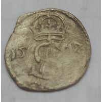 Двойной денарий 1567