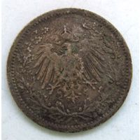 1/2 марки. 1914 г. А