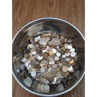 Монеты 6300г !!!  одним лотом