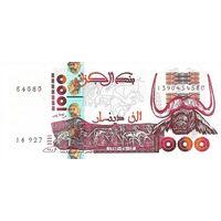 Алжир 1000 динар 1998 UNC