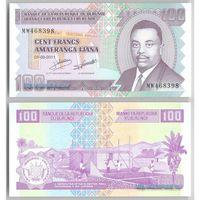 Бурунди 100 центов 2011