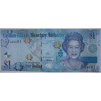 Каймановы острова 1 доллар 2014 г. (d)