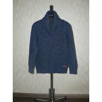 Фирменный стильный Теплый свитер с высоким горлом.Европейское качество.Идеал.состояние