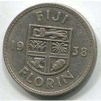 ФИДЖИ - ФЛОРИН 1938 !!!
