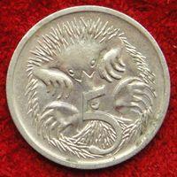 7310:  5 центов 1989 Австралия