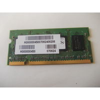 Оперативная память для ноутбука SODIMM 512Mb DDR2-667 PC2-5300