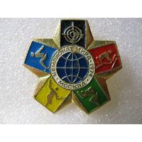 Значок. Чемпионат Мира 1974г. Москва. Современное пятиборье